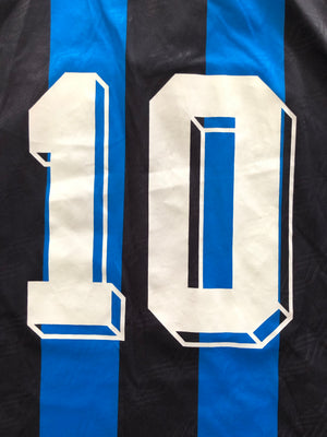 1994/95 Inter Milan Home Shirt #10 (L) 9/10