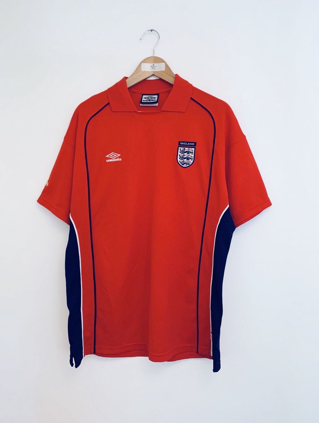 1999/01 England Training Polo Shirt (L) 10/10