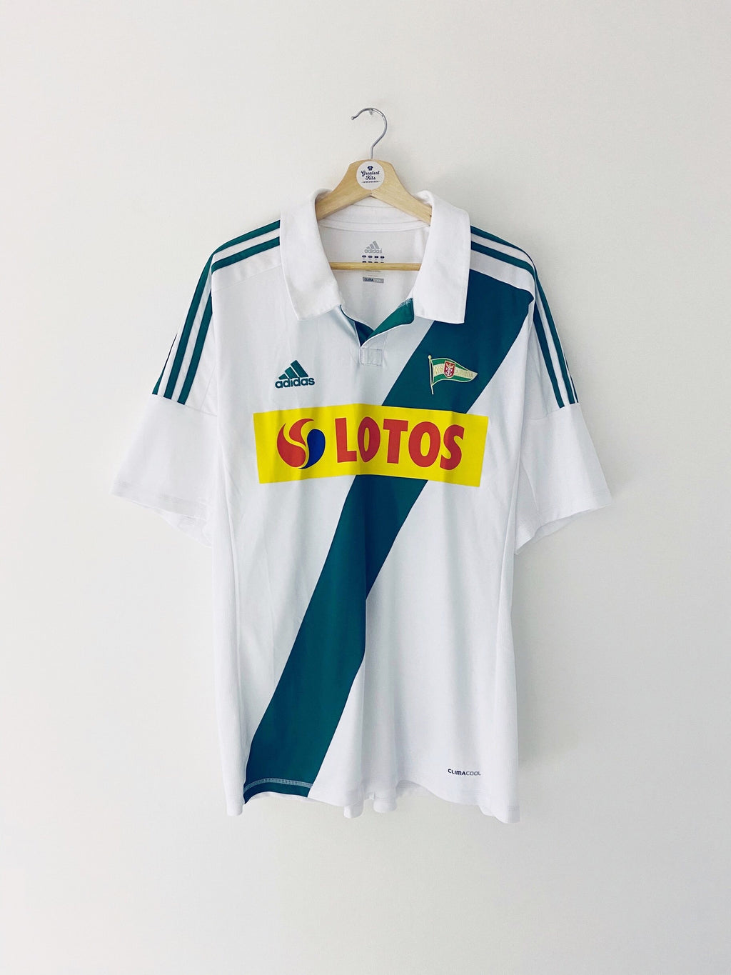 2012/13 Lechia Gdansk Home Shirt (XL) 9/10