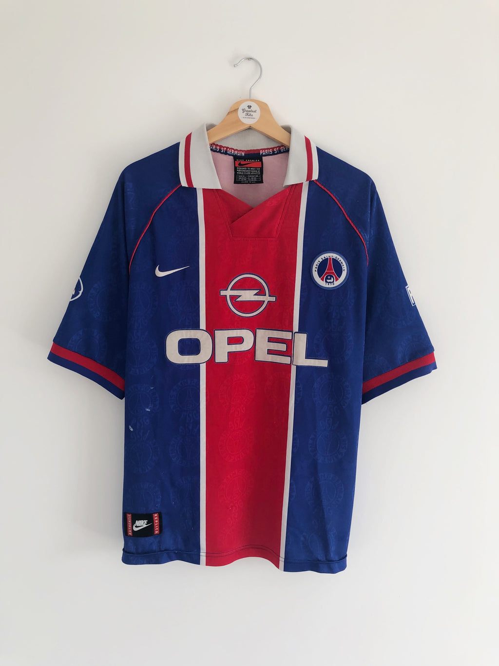1996/97 Paris Saint-Germain Home Shirt (XL) 6/10