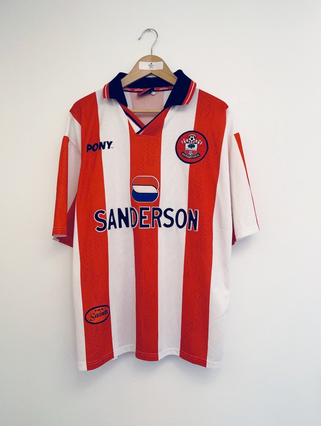 1997/99 Southampton Home Shirt #2 (XL) 8.5/10