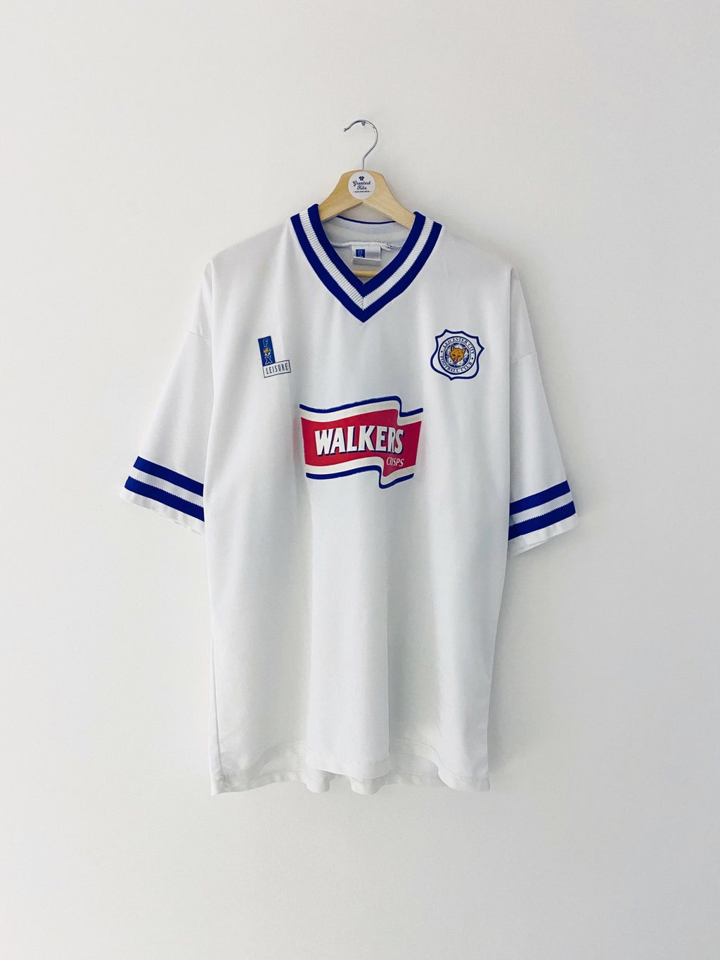 1996/98 Leicester Away Shirt #14 (XL) 8.5/10