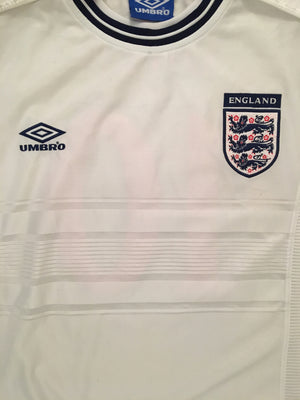 1999/01 England Home Shirt Owen #10 (S) 8.5/10