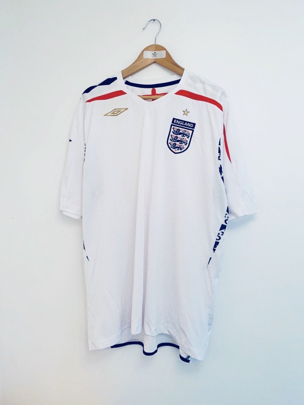 2007/09 England Home Shirt (XXL) 9/10