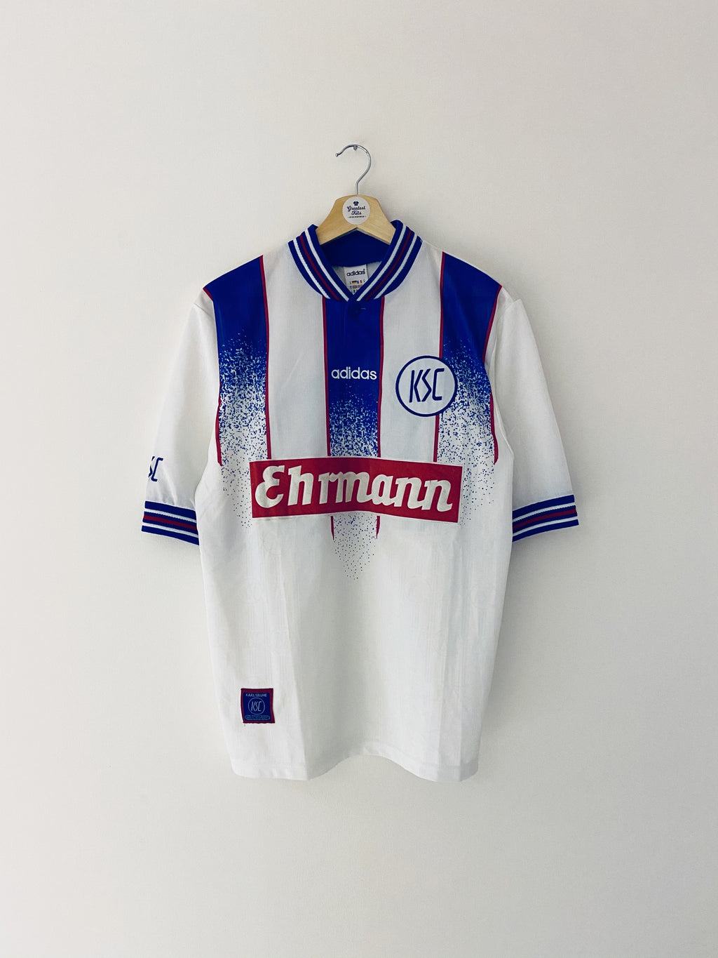 1996/98 Karlsruher Home Shirt #10 (S) 8.5/10