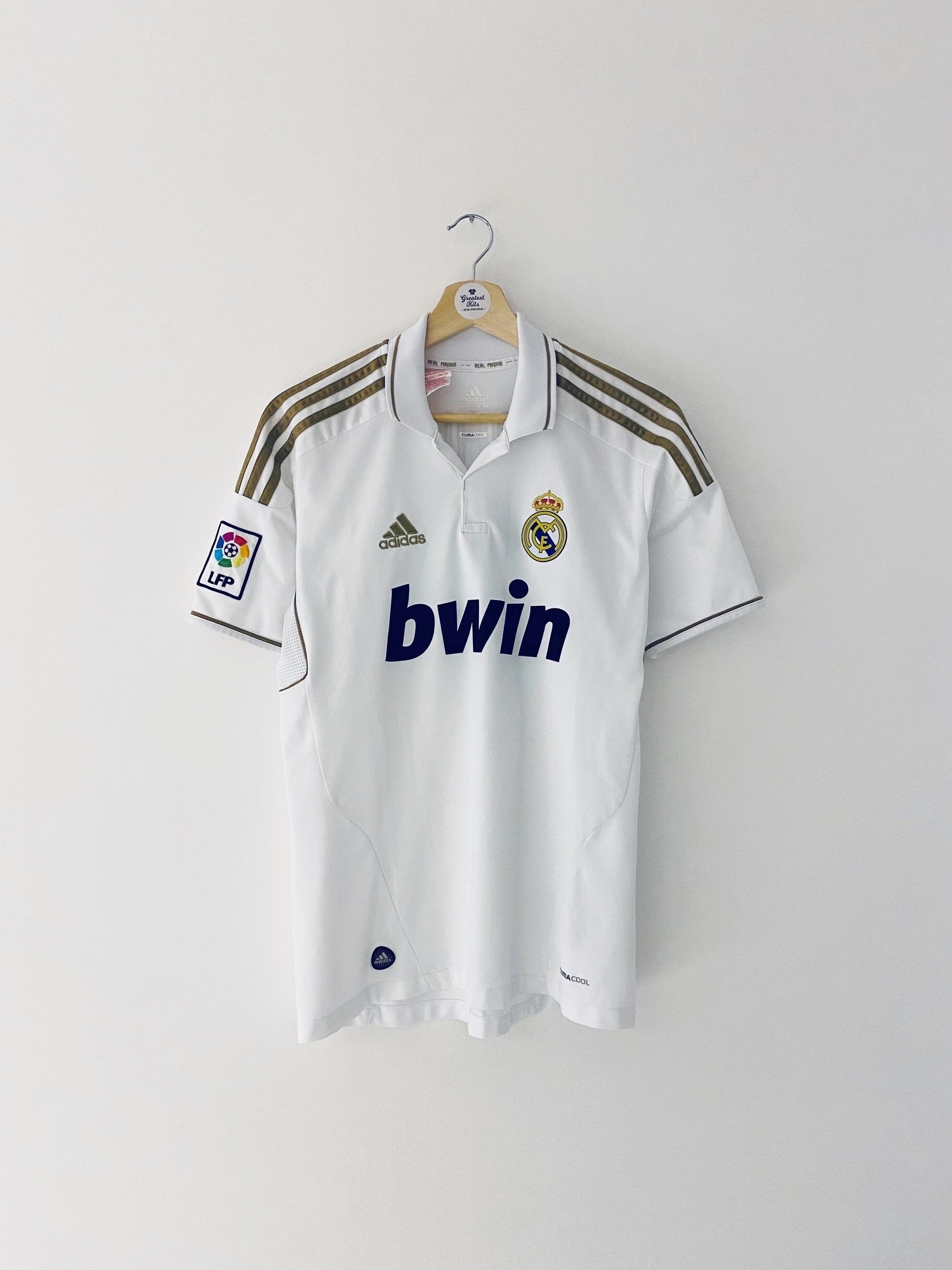 2011/12 Real Madrid Home Shirt Ronaldo #7 (XL.Boys) 9/10