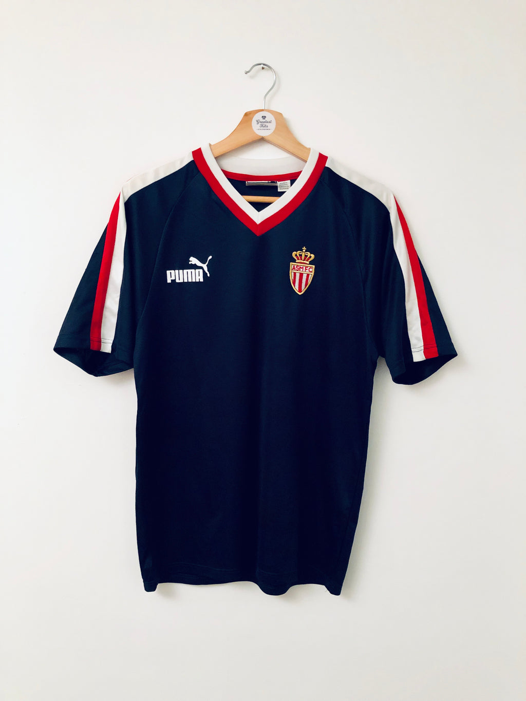 2001/02 Monaco Training Shirt (S) 8.5/10