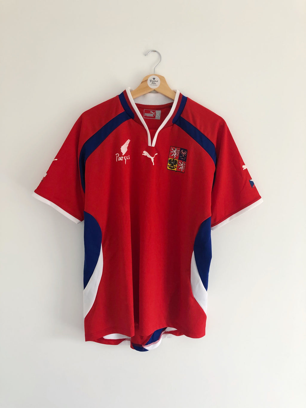 2000/02 Czech Republic Home Shirt (XL) 9/10