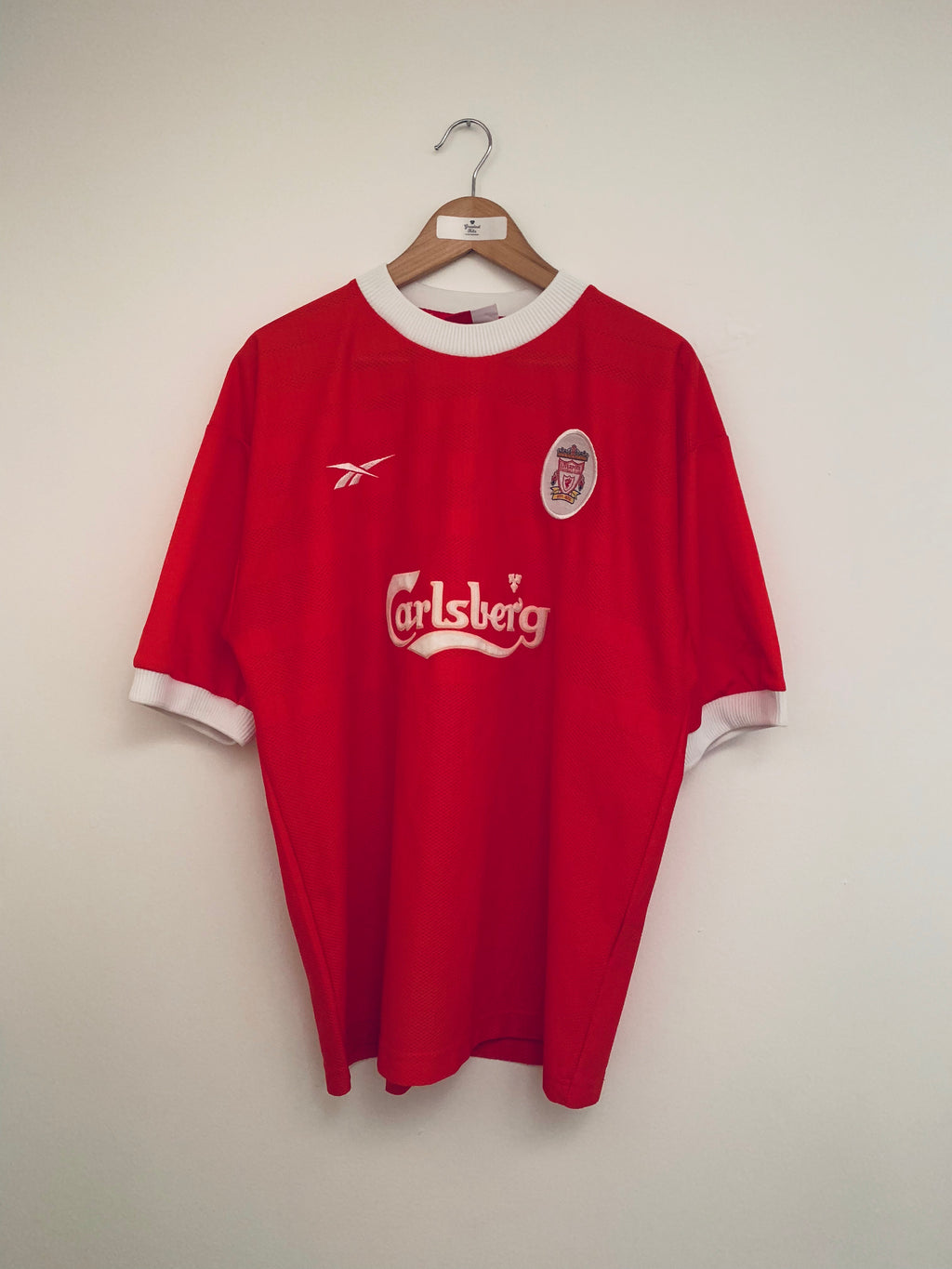 1998/00 Liverpool Home Shirt (L) 9/10