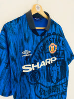 1992/93 Manchester United Away Shirt (L) 8.5/10
