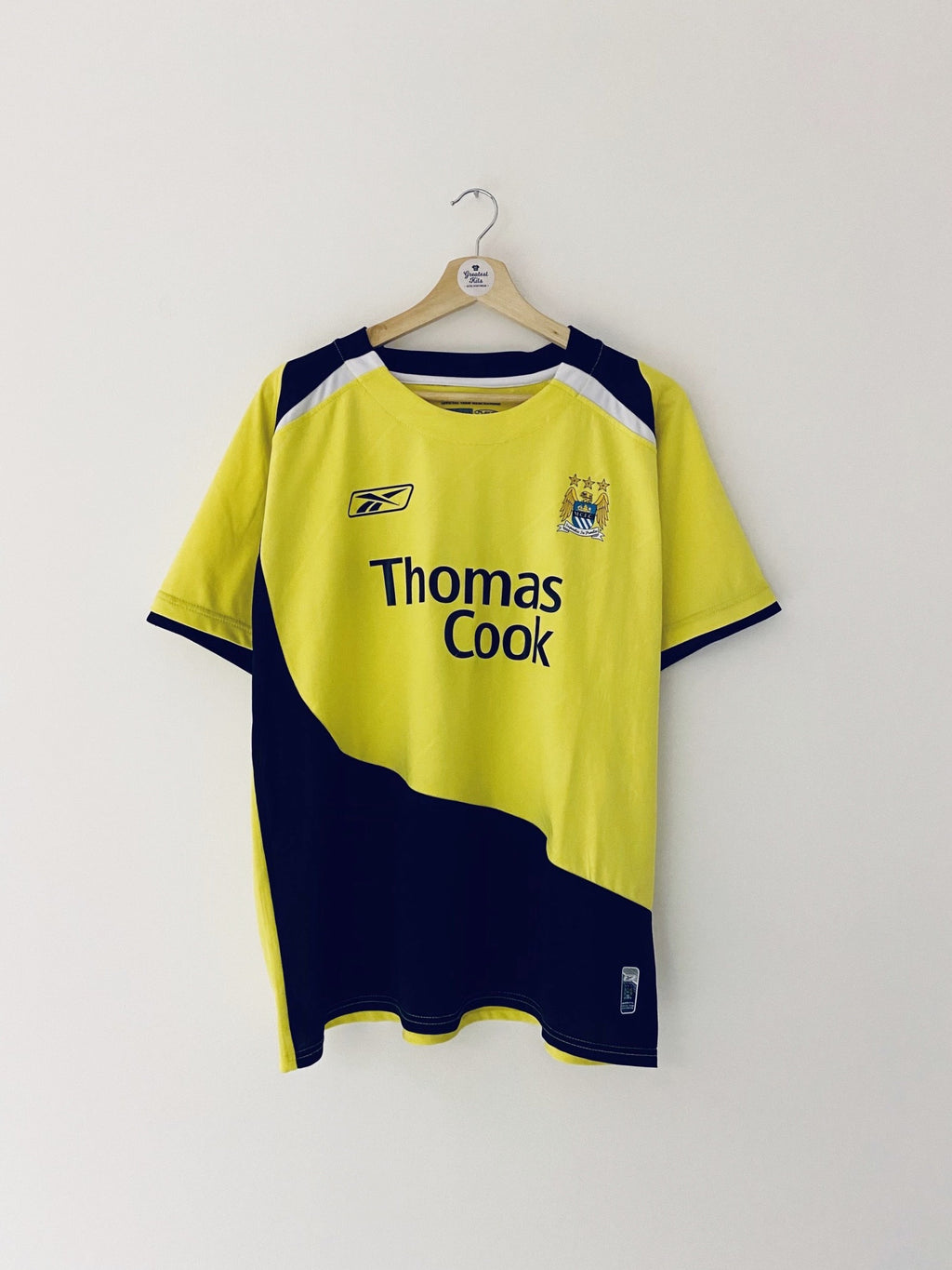 2005/06 Manchester City Third Shirt #8 (XL) 8/10