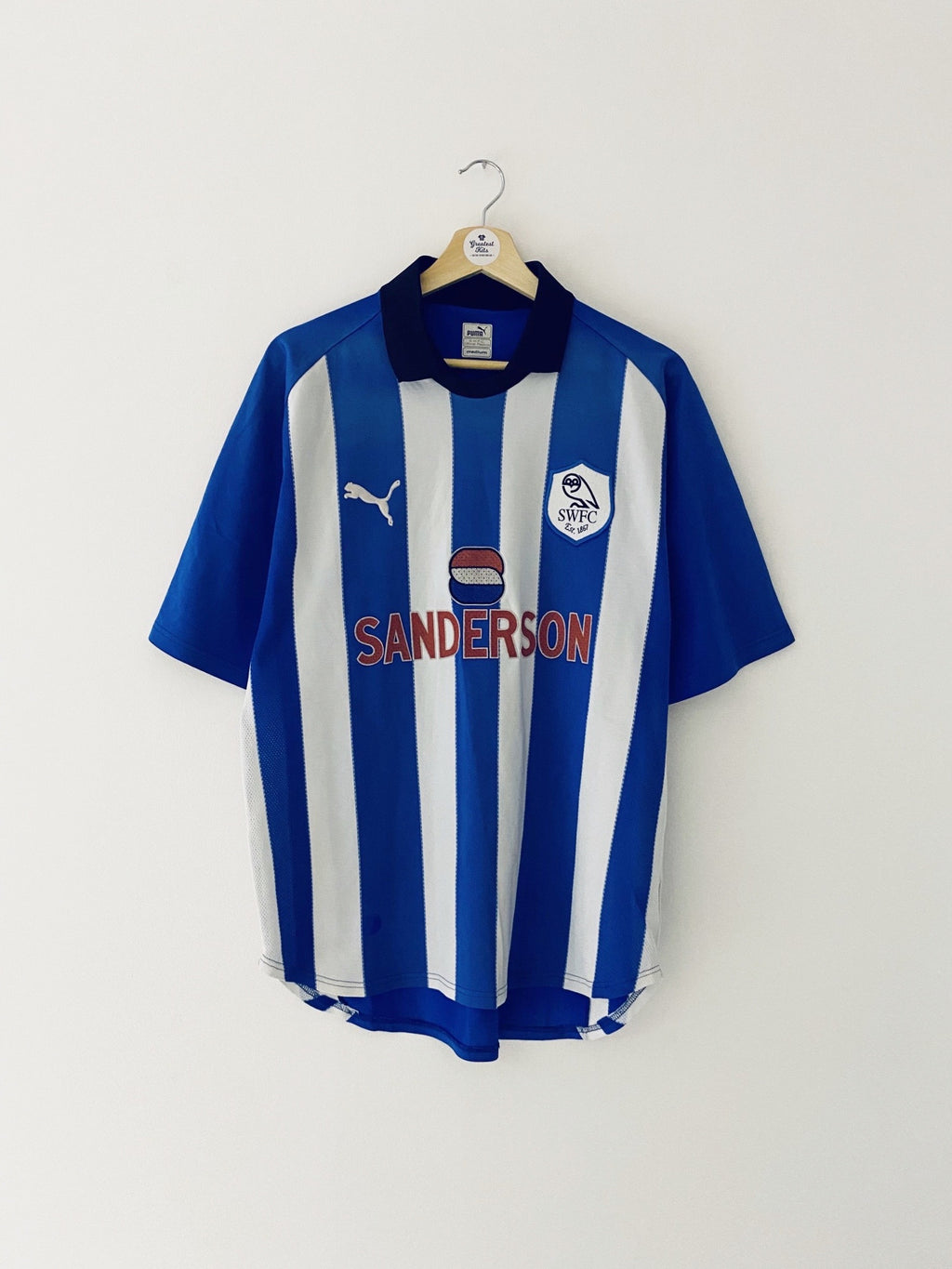 1999/00 Sheffield Wednesday Home Shirt (M) 8/10