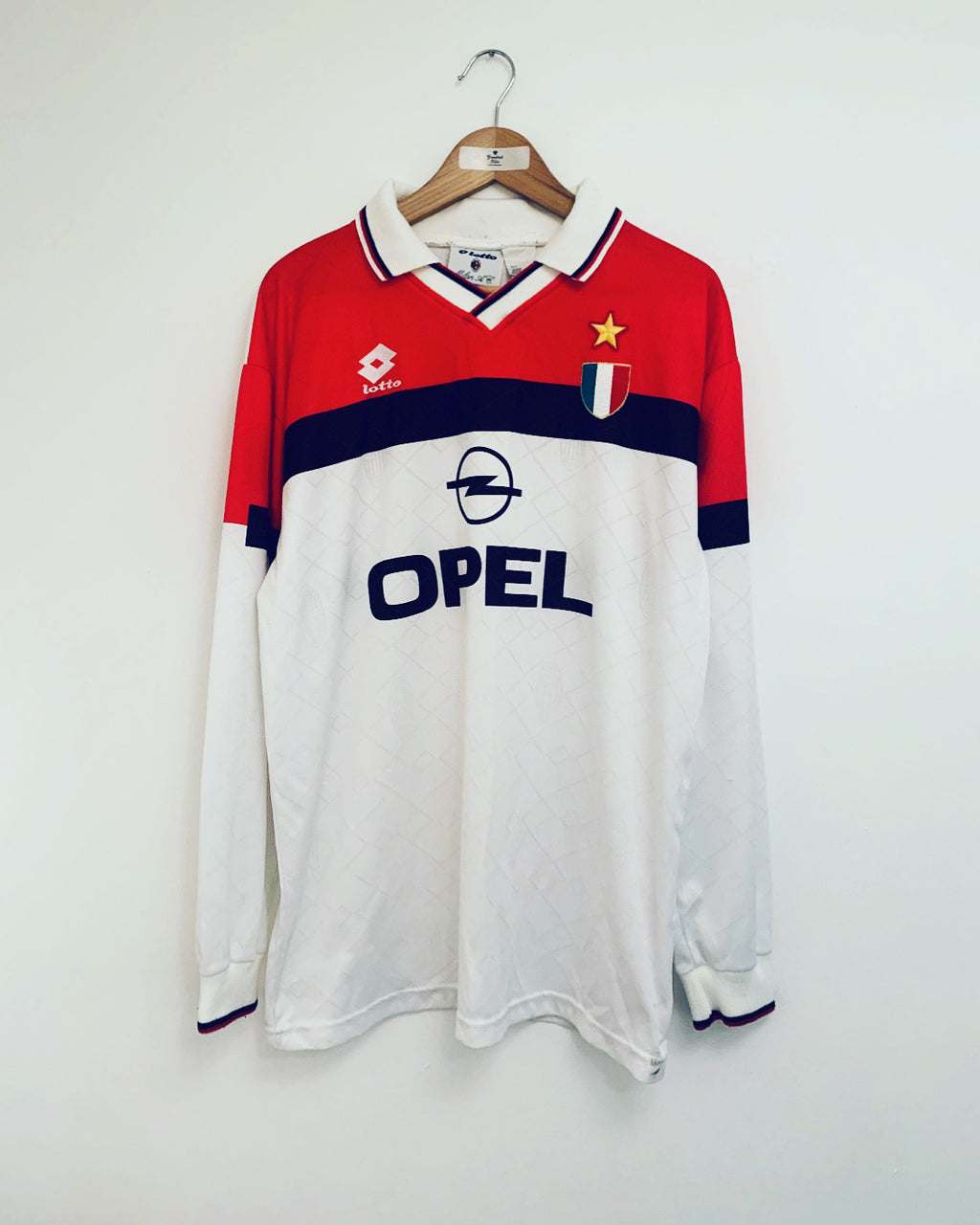 1994/95 AC Milan Away L/S Shirt (XXL) 8.5/10