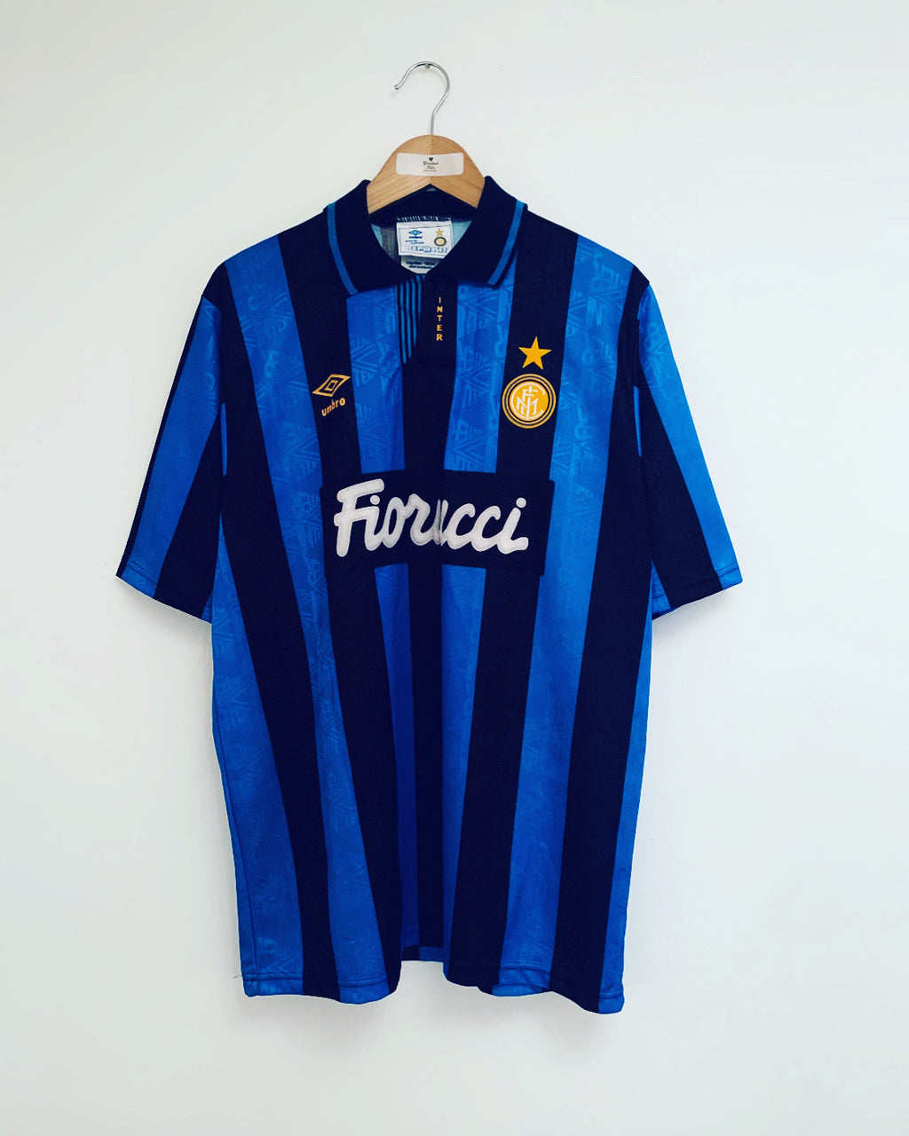 1992/94 Inter Milan Home Shirt (L) 9.5/10
