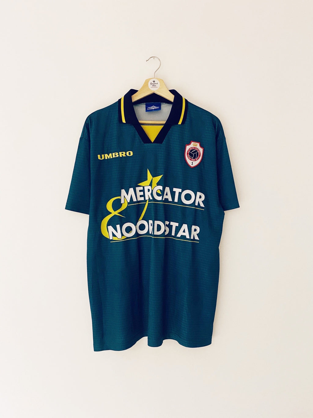 1997/98 Royal Antwerp Away Shirt #5 (XL) 8/10