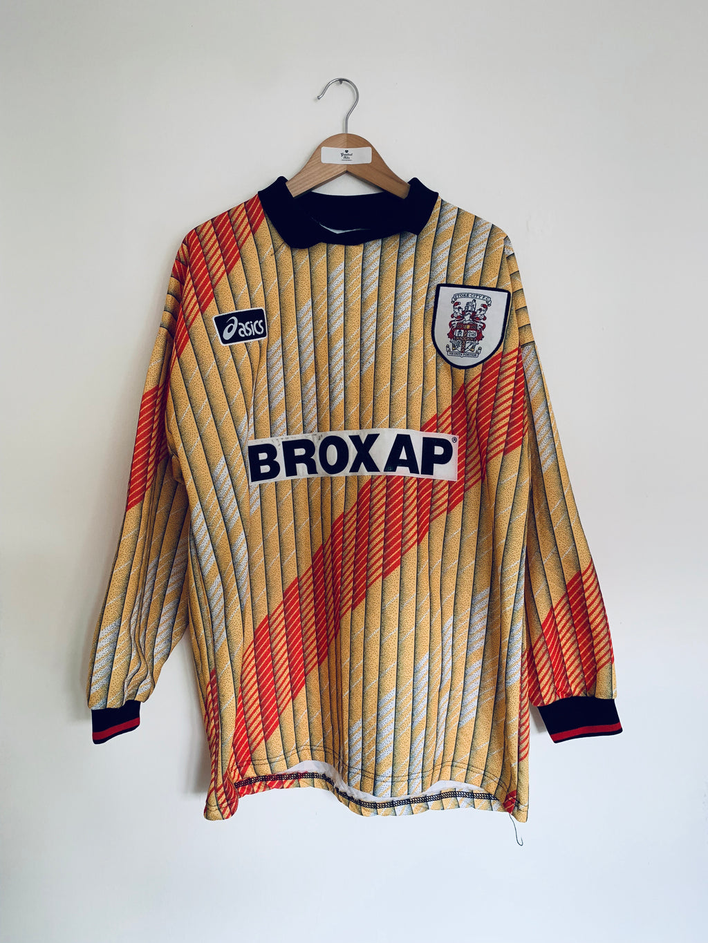1995/96 Stoke City GK Shirt (XL) 9/10