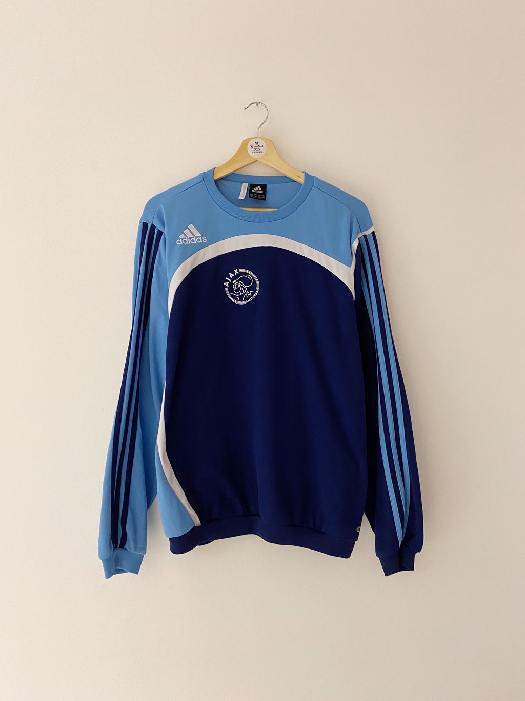 2007/08 Ajax Training Jumper (L) 7/10