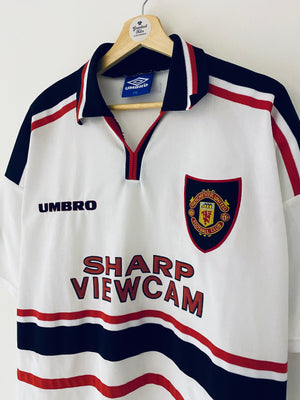 1997/99 Manchester United Away Shirt (XXL) 6.5/10