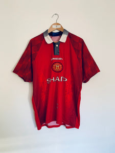 1996/98 Manchester United Home Shirt (L) 8.5/10