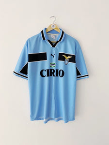 1998/00 Lazio Basic Home Shirt (L) 9/10