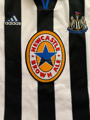 1999/00 Newcastle Home Shirt (M) 9.5/10
