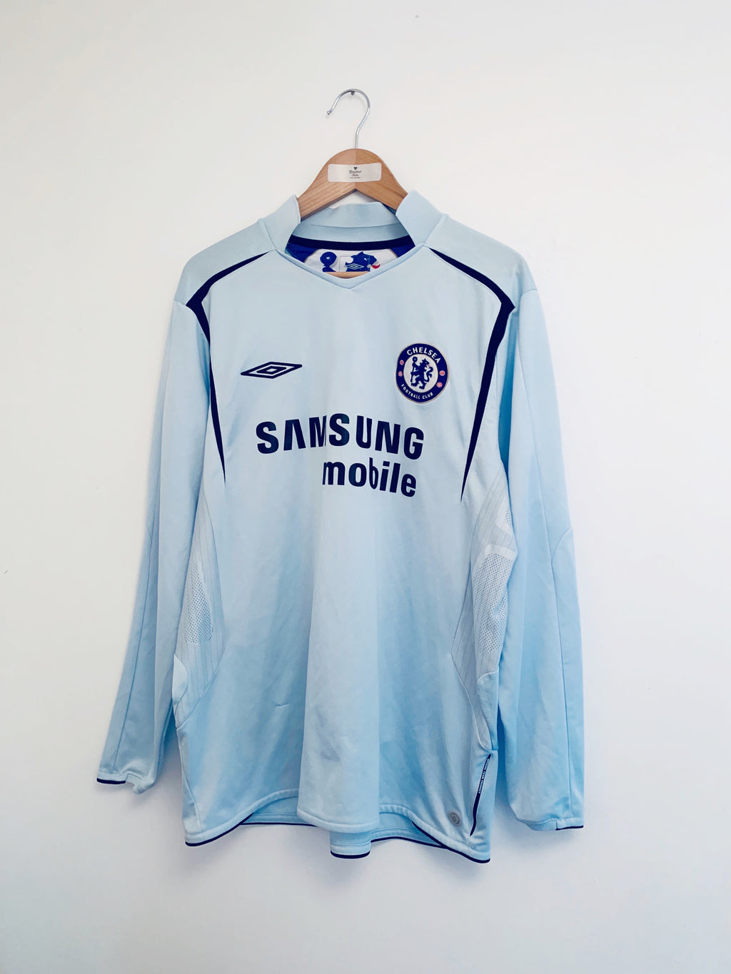 2005/06 Chelsea Away L/S Shirt (XL) 8.5/10