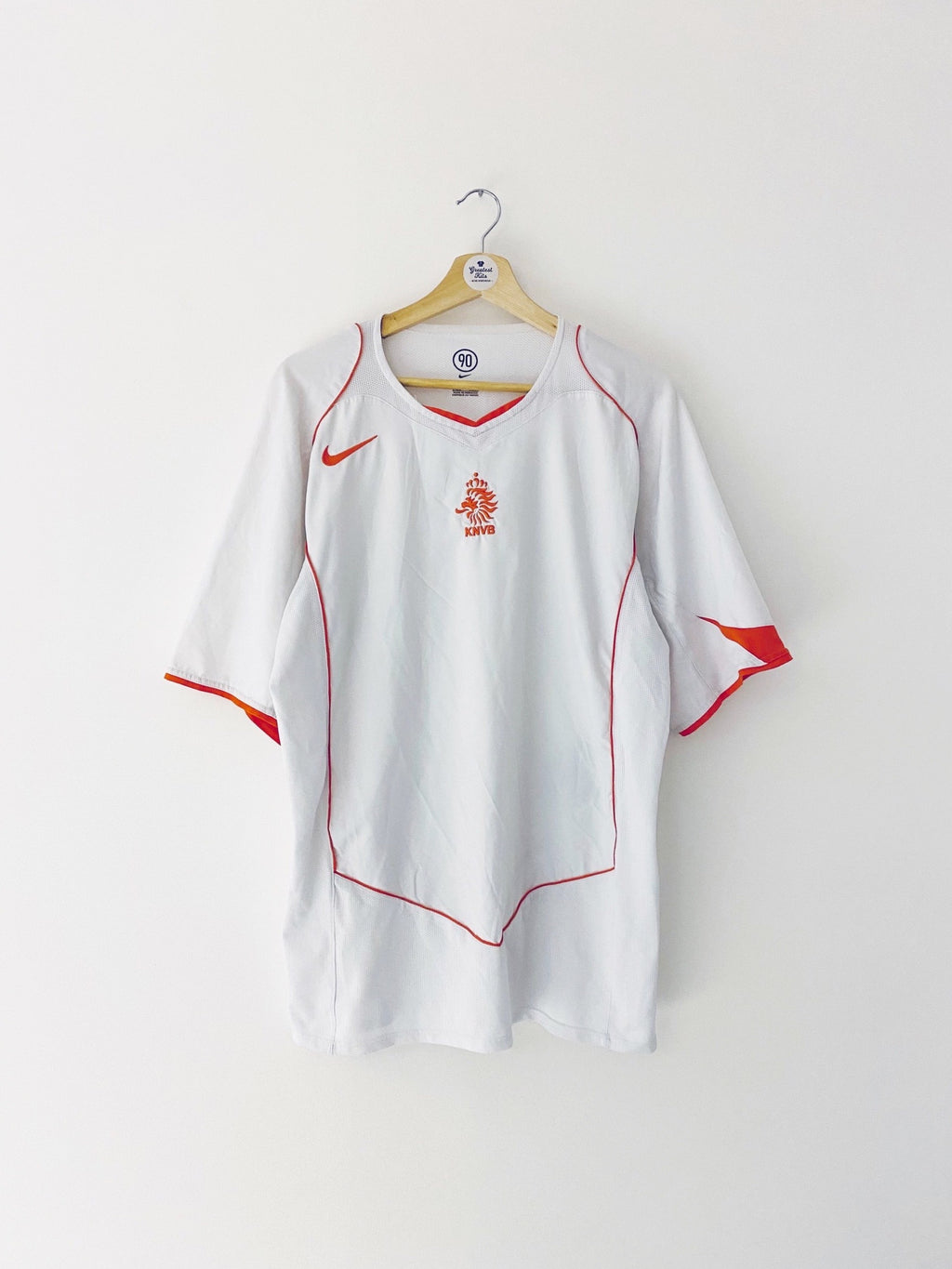 2004/06 Holland Away Shirt (XL) 9/10
