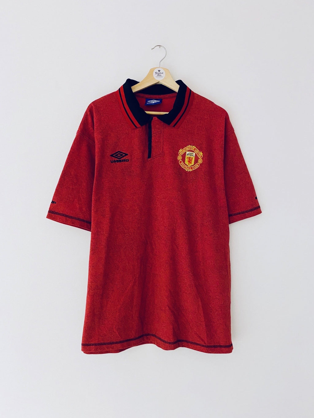 1998/99 Manchester United Polo Shirt (XL) 9.5/10