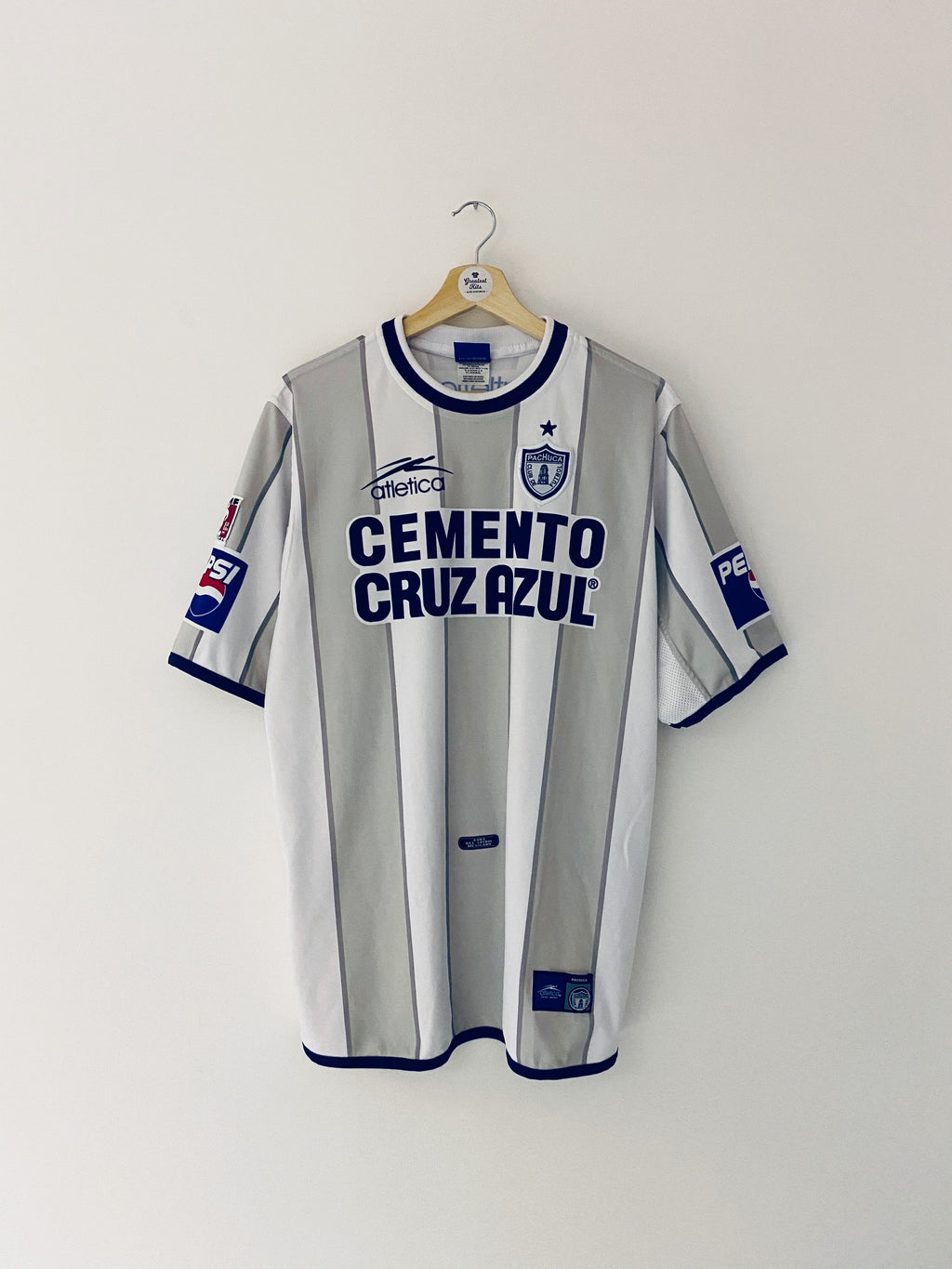 2002/03 Pachuca Away Shirt (XL) 8.5/10
