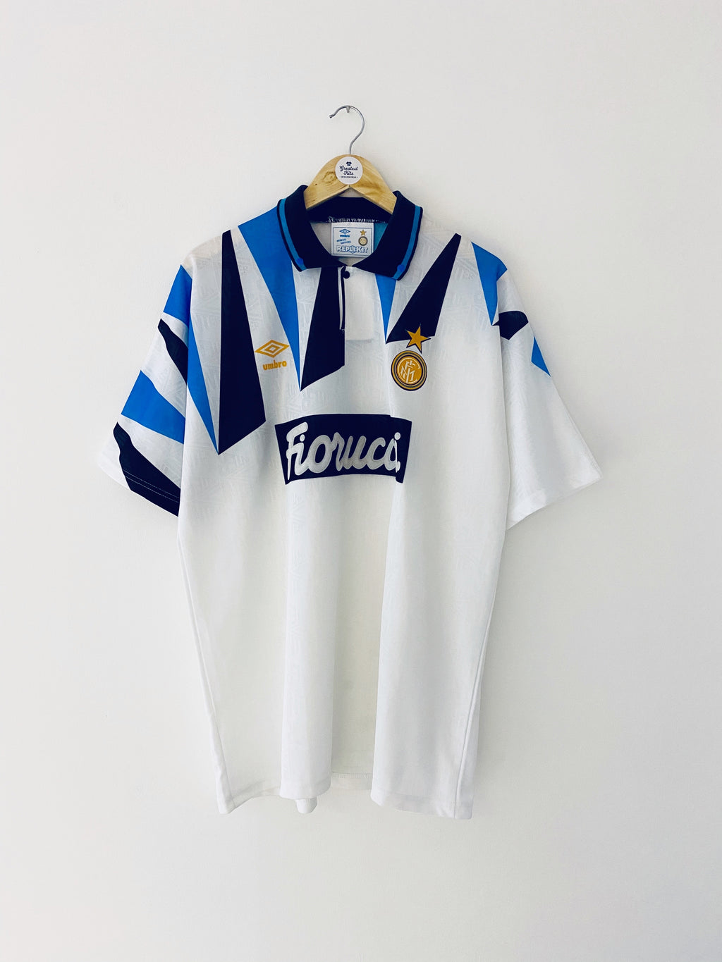 1992/93 Inter Milan Away Shirt (XL) 9/10