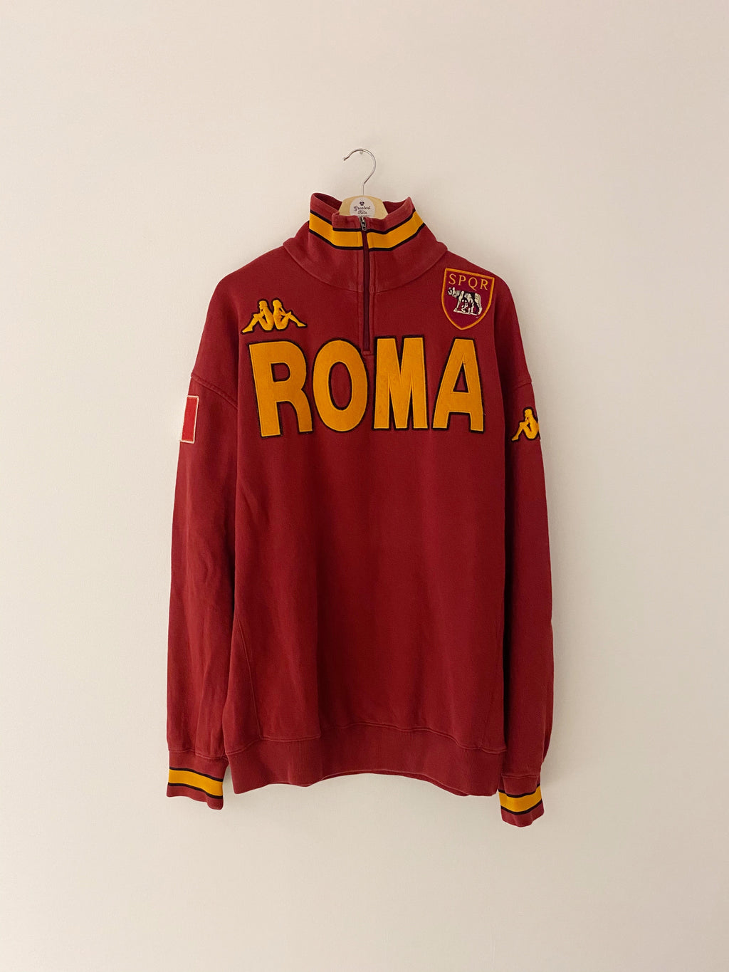 2008/09 Roma Training Jacket (3XL) 8/10