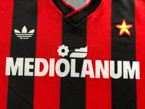 1990/91 AC Milan Home Shirt (XS) 9/10