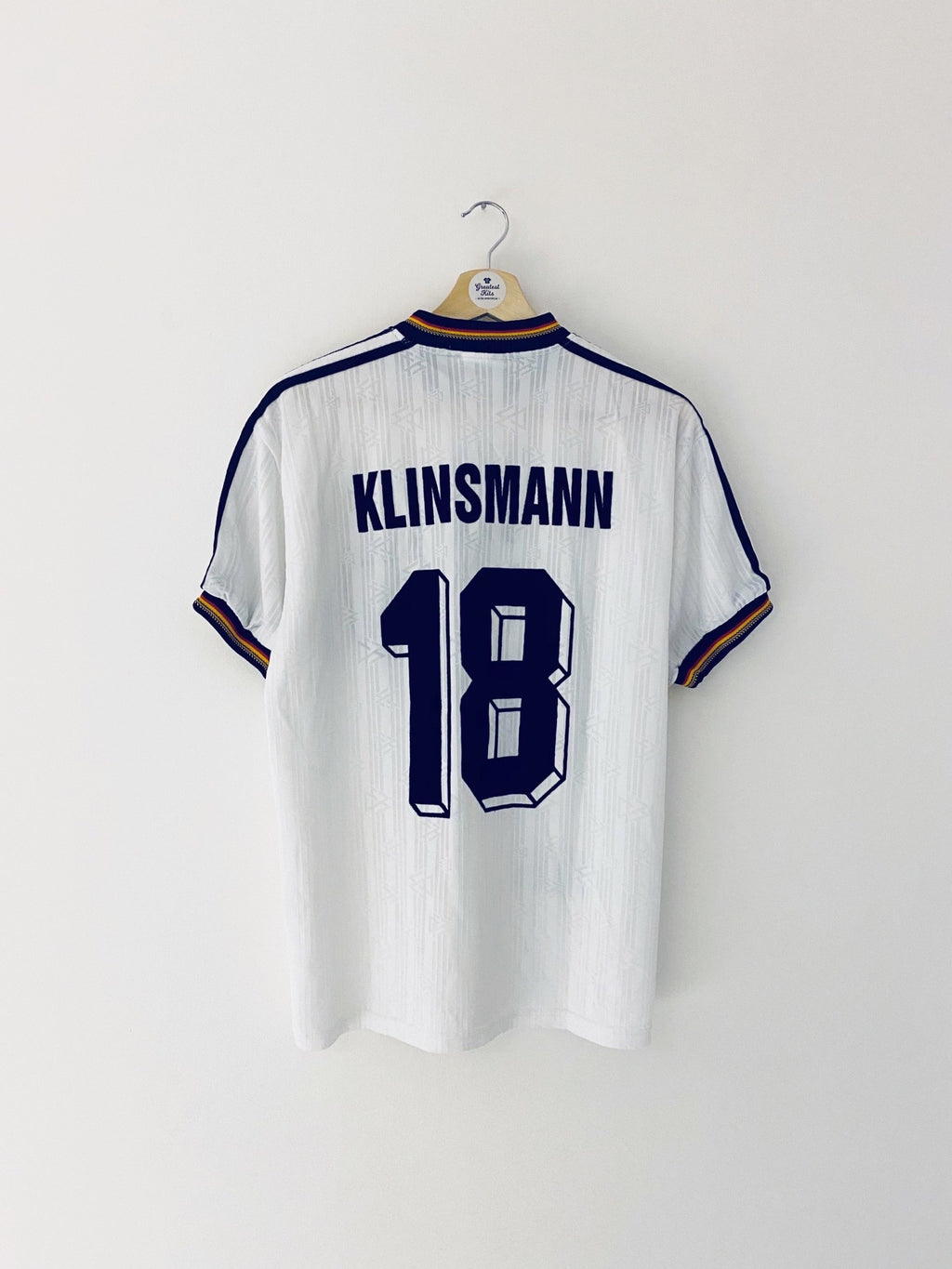 1996/98 Germany Home Shirt Klinsmann #18 (M) 8.5/10