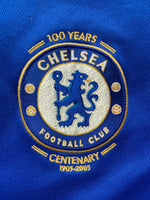 2005/06 Chelsea Home Centenary Shirt (M) 9/10