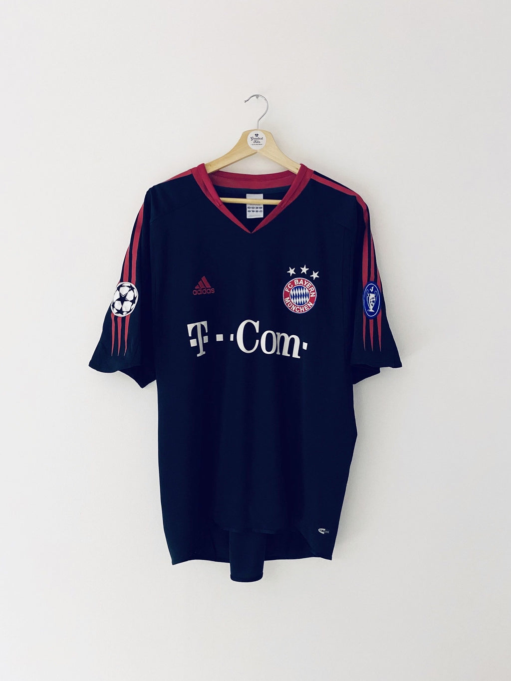 2004/05 Bayern Munich CL Shirt (L) 8.5/10