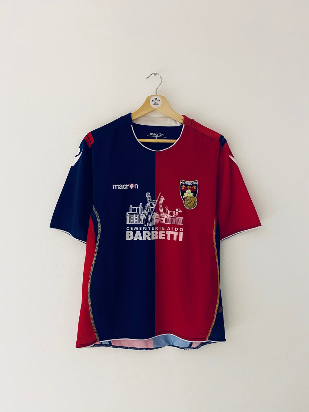 2010/11 Gubbio Home Centenary Shirt (S) 8/10