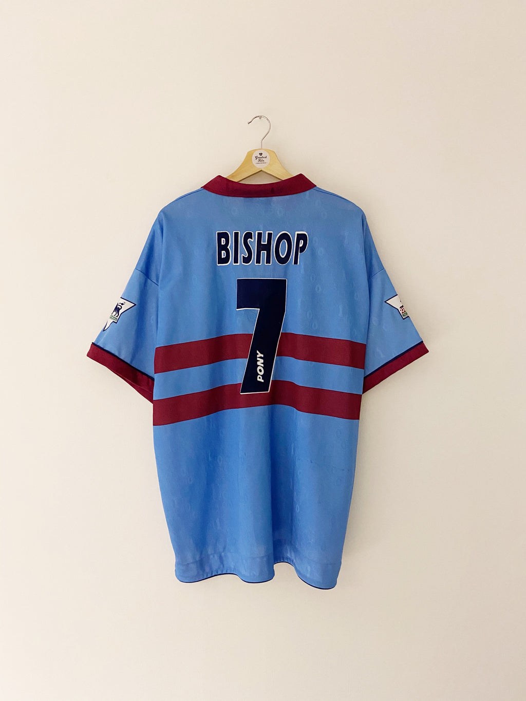 1995/97 West Ham Away Centenary Shirt Bishop #7 (XL) 7/10