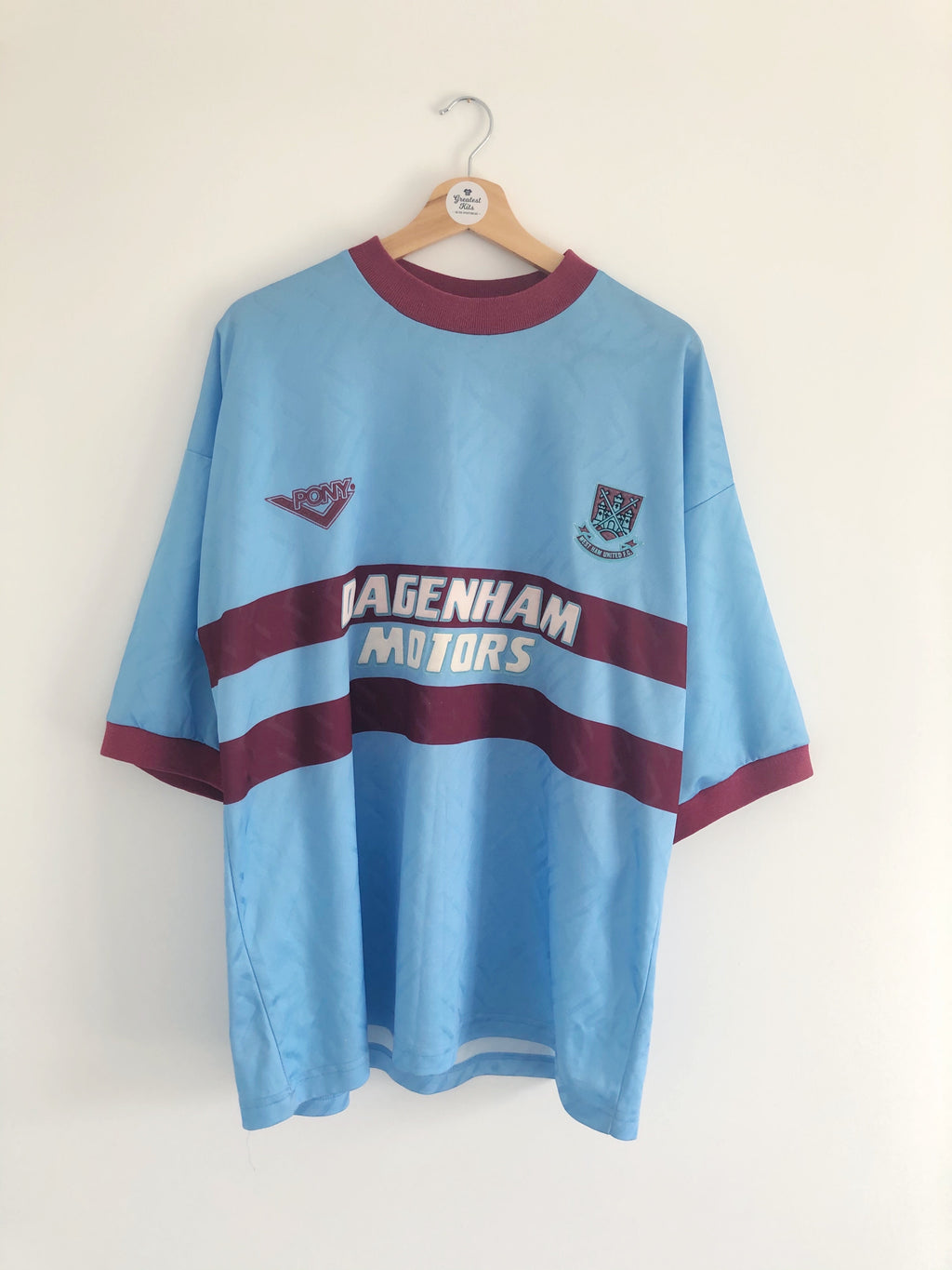 1993/95 West Ham Away Shirt (XL) 7/10