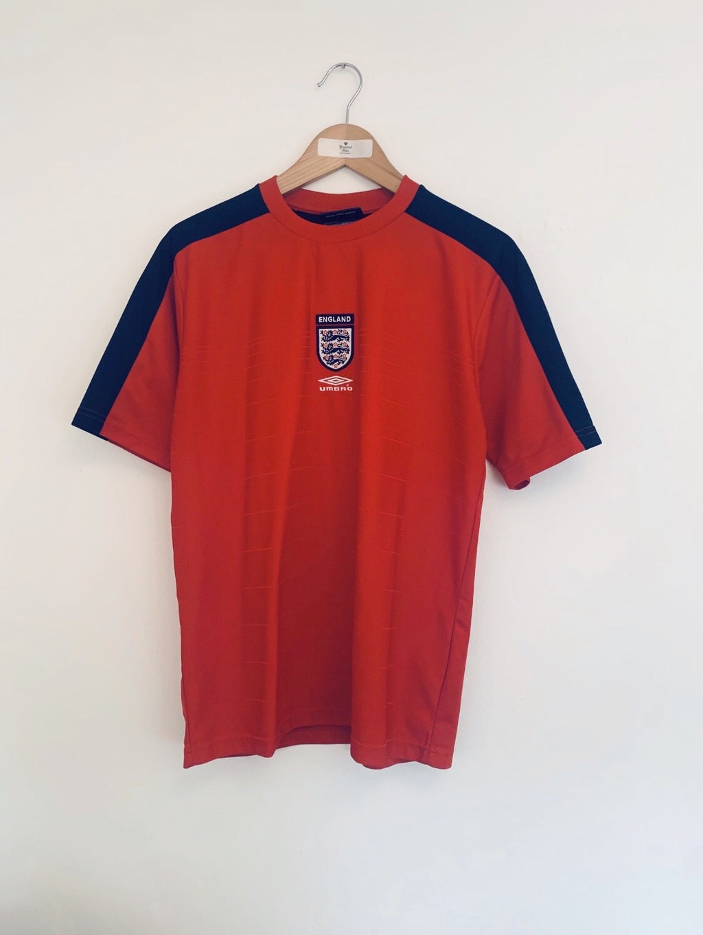2000/01 England Training Shirt (M) 9/10