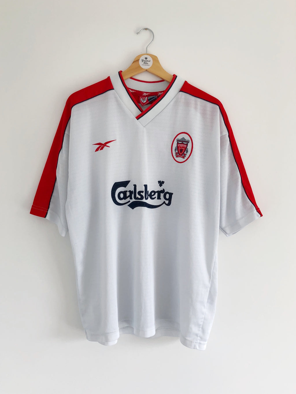 1998/00 Liverpool Away Shirt (L) 9/10