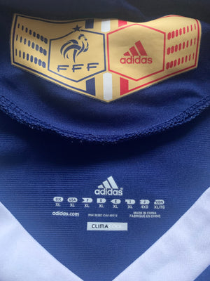 2009/10 France Home Shirt (XL) 9/10