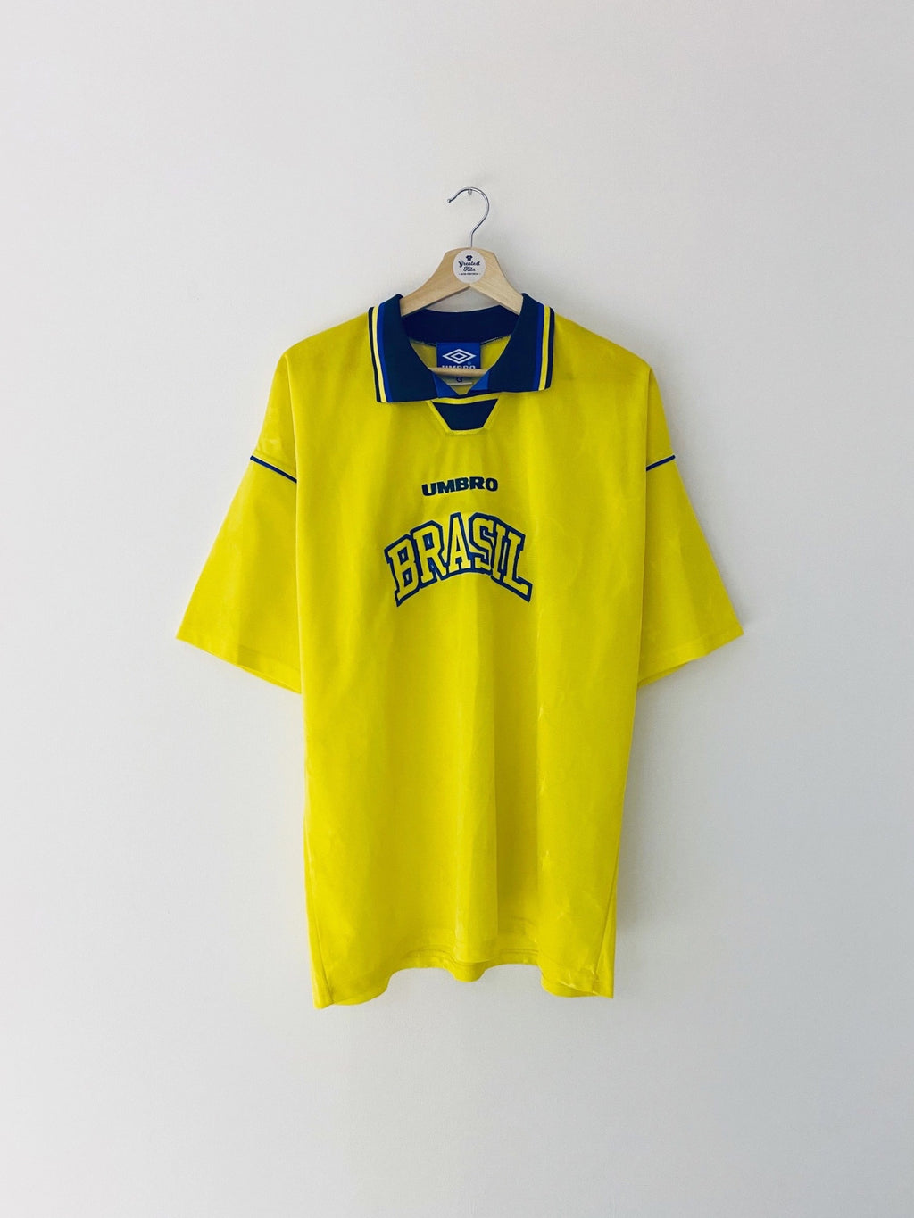 1994/97 Brazil Leisure Shirt (L) 9/10