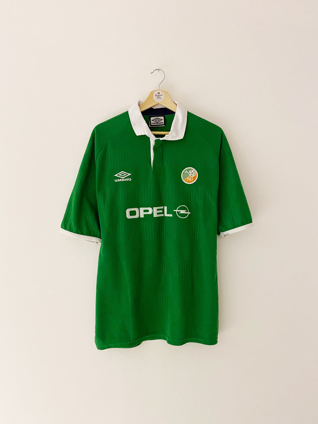 2000/01 Ireland Home Shirt (L) 8.5/10
