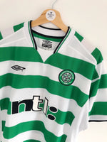 2001/03 Celtic Home Shirt (M) 9.5/10