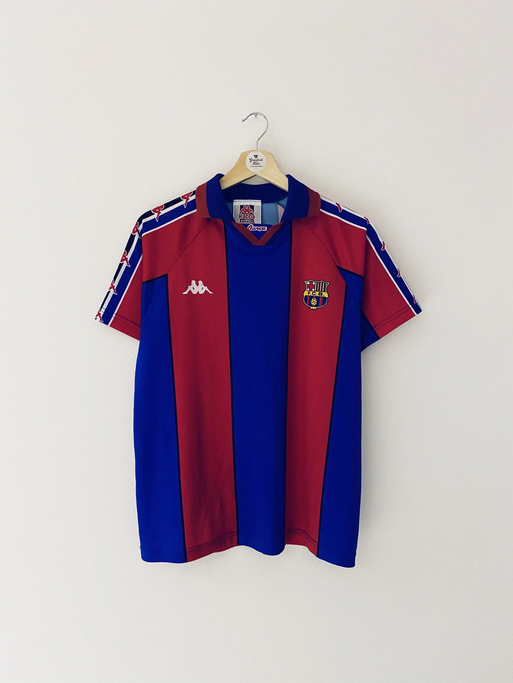 1995/97 Barcelona Basic Home Shirt (XS) 8/10