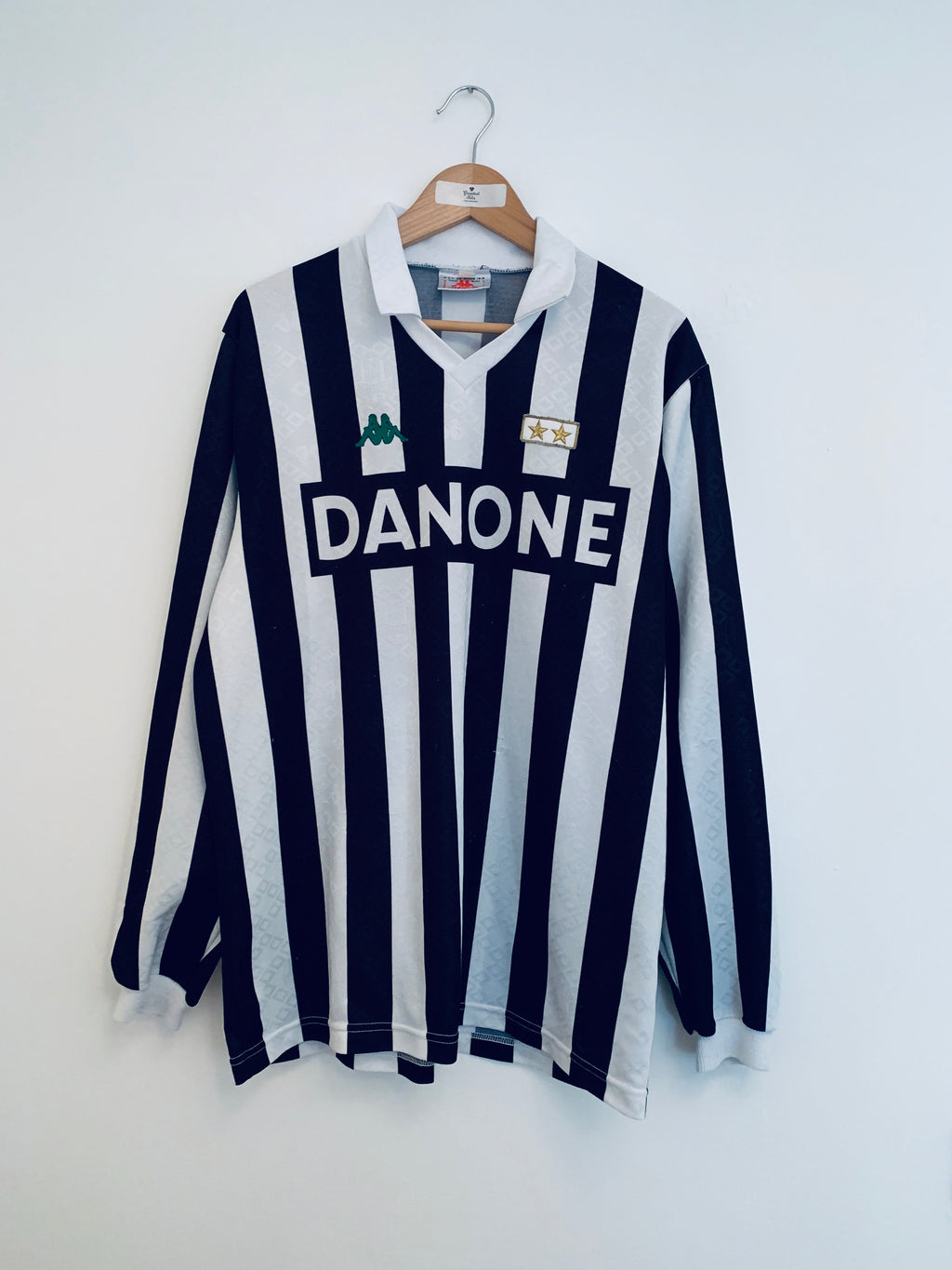 1992/94 Juventus Home L/S Shirt (XL) 8/10
