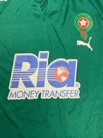 2007/08 Morocco Under 20 *Player Issue* Home Shirt #5 (L) 8/10
