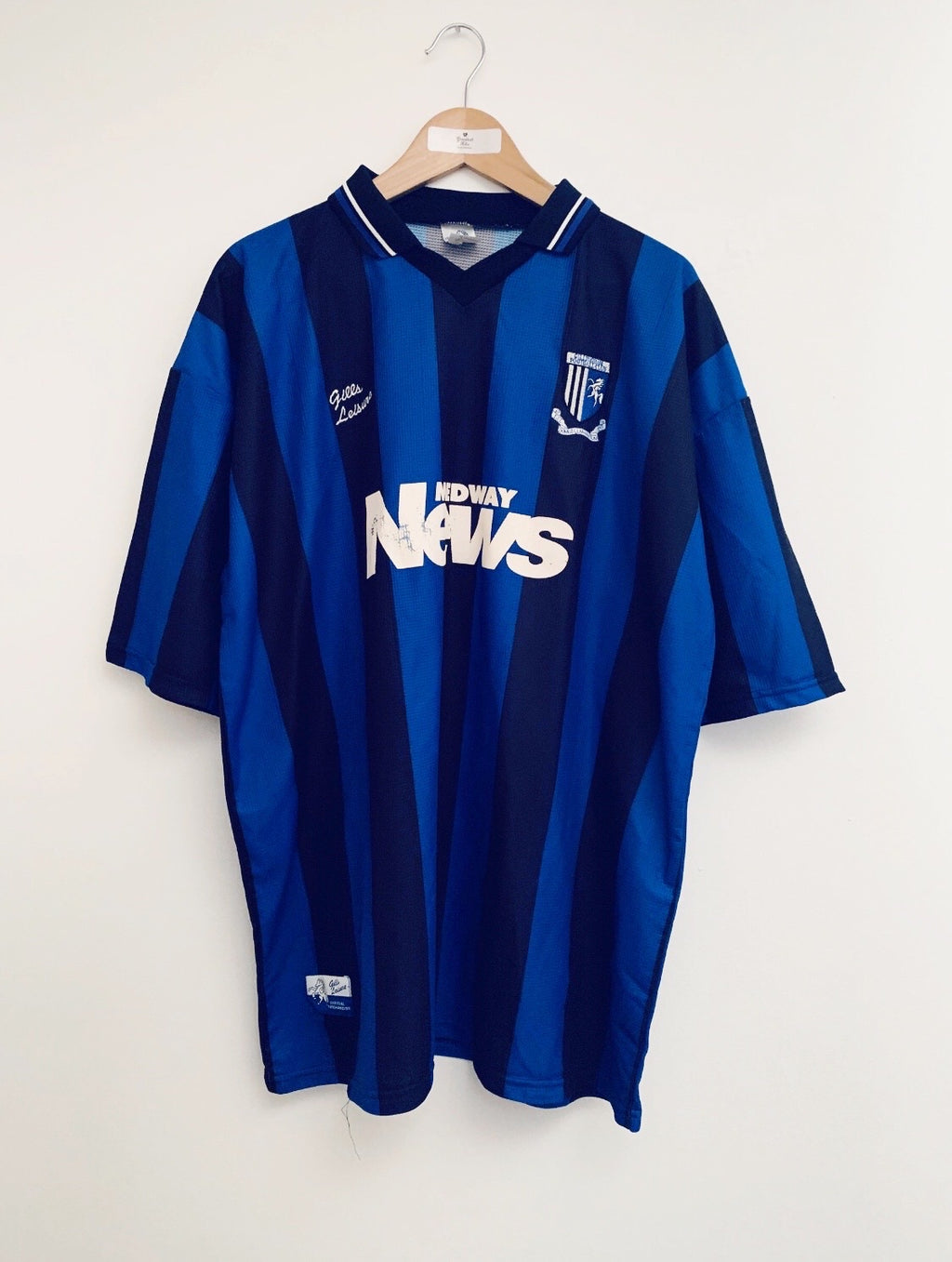 1999/00 Gillingham Home Shirt (XXL) 7/10