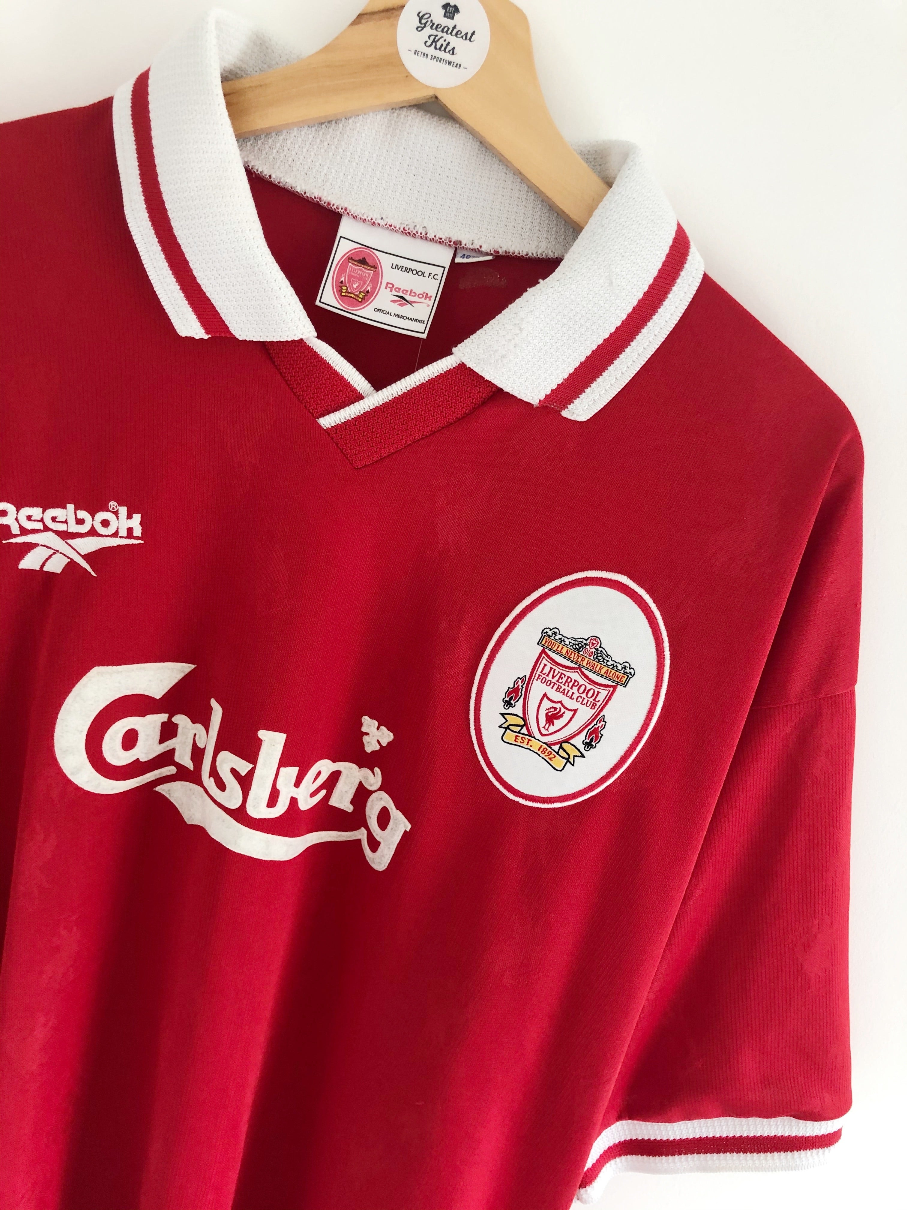 1996/98 Liverpool Home Shirt (XL) 9/10