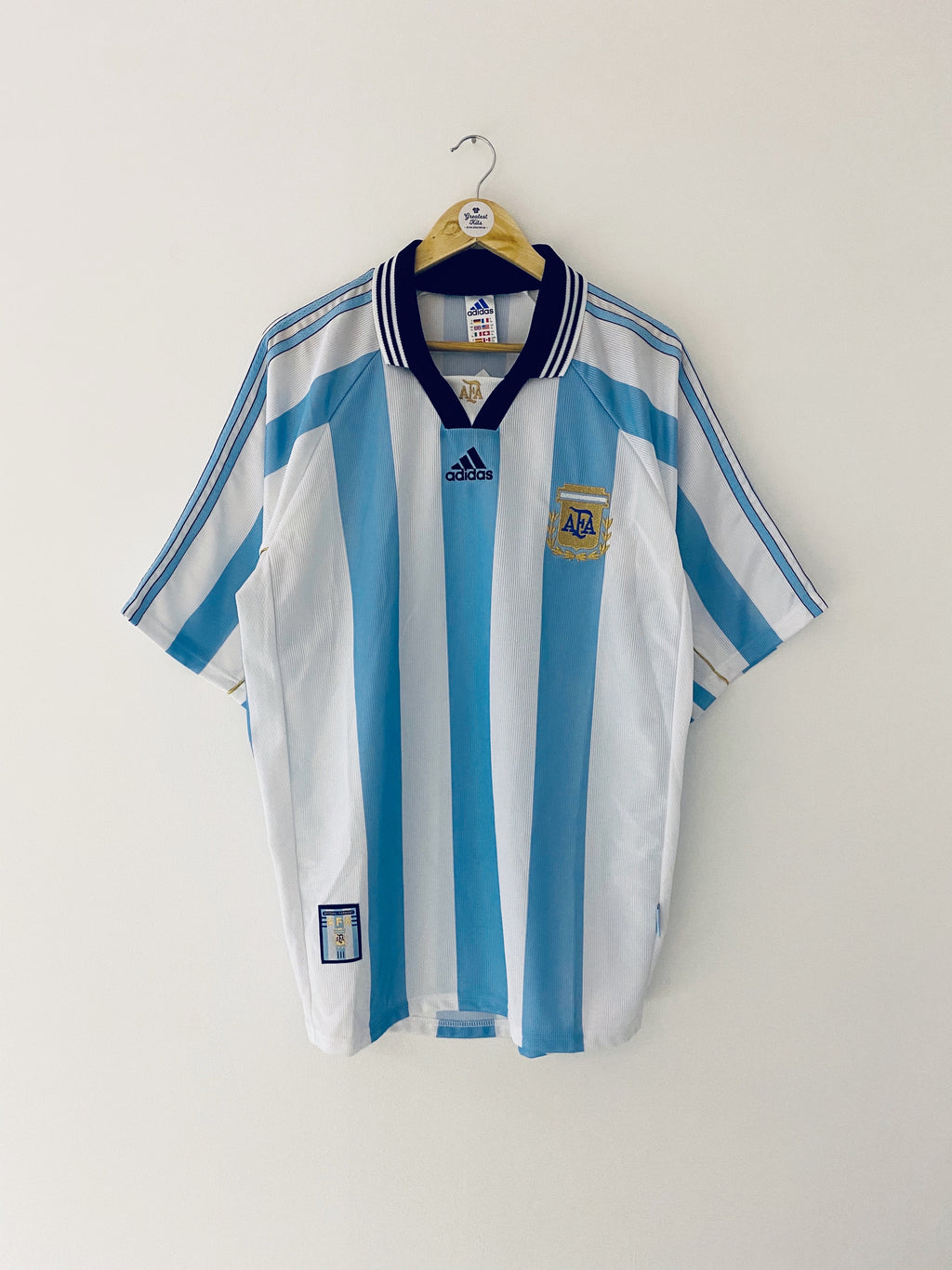 1998/99 Argentina Home Shirt (XL) 10/10